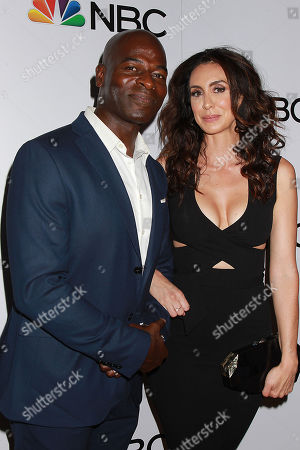 Hisham Tawfiq and Mozhan Marno
