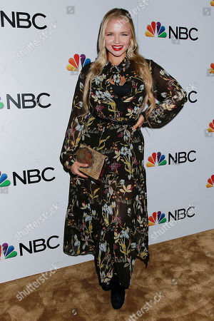 Editorial image of NBC and The Cinema Society Host a Party for The Cast of NBC's 2018-2019 Season, New York, USA - 20 Sep 2018