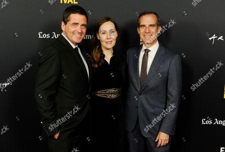 Eric Garcetti, Jennifer Cochis, Josh Welch