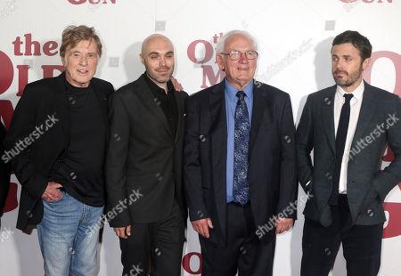 Robert Redford, David Lowery, John Hunt, Casey Affleck