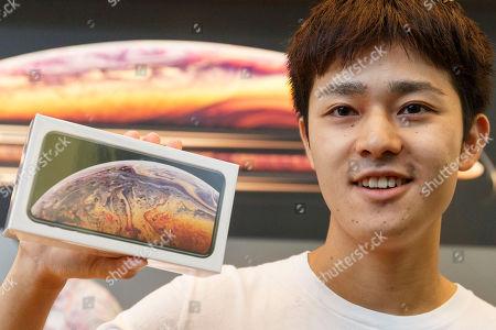 Launch of new iPhone XS phones