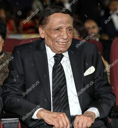 Egyptian actor Adel Emam reacts during the opening ceremony of Gouna Film Festival at El Gouna, 470km southeast of Cairo, Egypt, 20 September 2018 (Issued 21 September 2018). The second edition of El Gouna Film Festival will be held between 20 to 28 September 2018 at the red sea city of El Gouna, 470km southeast of Cairo.