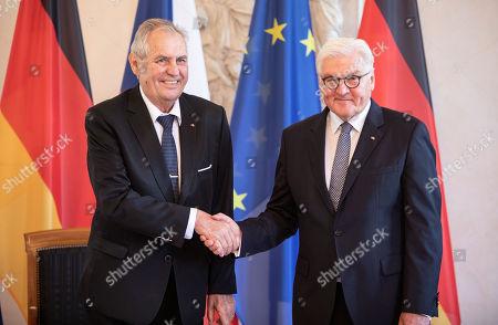 Czech President Milos Zeman visit to Germany