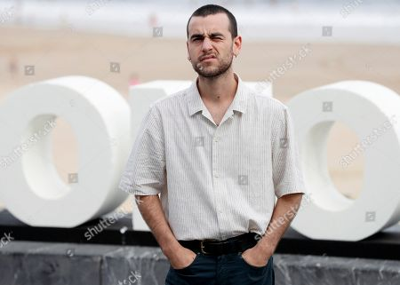 Spanish actor and cast member Alex Monner poses for the photographers during the presentation of 'Vivir sin permiso' (lit.: Living without permission) at the San Sebastian International Film Festival, in San Sebastian, Basque Country, Spain, 21 September 2018. The 66th edition of the SSIFF runs from 21 to 29 September.