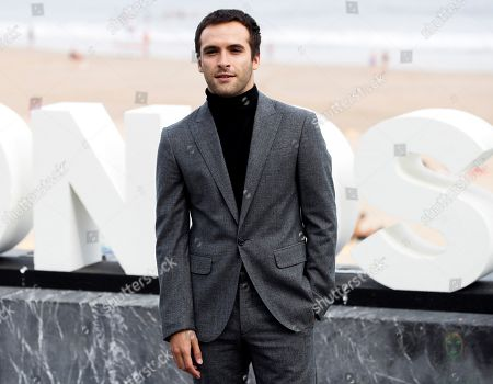 Spanish actor and cast member Ricardo Gomez poses for the photographers during the presentation of 'Vivir sin permiso' (lit.: Living without permission) at the San Sebastian International Film Festival, in San Sebastian, Basque Country, Spain, 21 September 2018. The 66th edition of the SSIFF runs from 21 to 29 September.