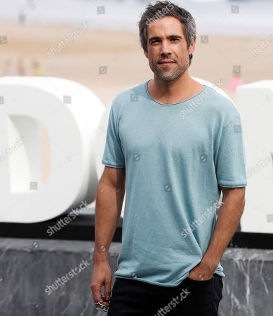 Spanish actor and cast member Unax Ugalde poses for the photographers during the presentation of 'Vivir sin permiso' (lit.: Living without permission) at the San Sebastian International Film Festival, in San Sebastian, Basque Country, Spain, 21 September 2018. The 66th edition of the SSIFF runs from 21 to 29 September.