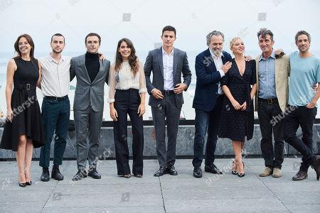 Jose Coronado, Ricardo Gomez, Claudia Traisc, Alex Gonzalez, Unax Ugalde, Luis Zahera, Leonor Watling, Pilar Castro