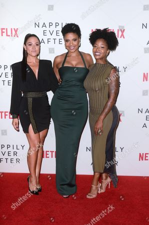 Editorial picture of 'Nappily Ever After' film screening, Los Angeles, USA - 20 Sep 2018