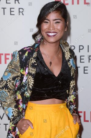 Editorial image of 'Nappily Ever After' film screening, Los Angeles, USA - 20 Sep 2018