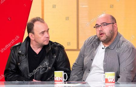 Todd Carty and Erkan Mustafa