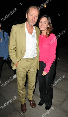 Stock Photo of Iain Glen and Charlotte Emmerson