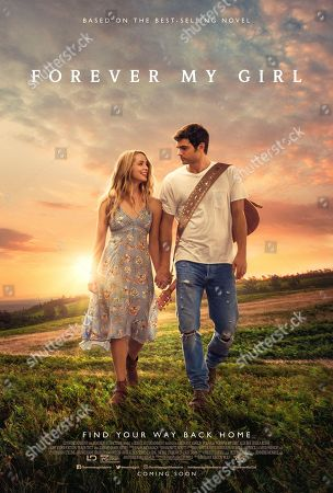 Forever My Girl (2018) Poster Art. Jessica Rothe as Josie, Alex Roe as Liam