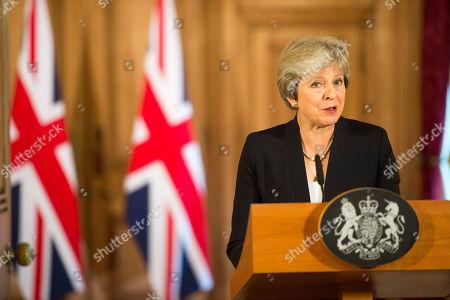 British Prime Minister Theresa May statement, London