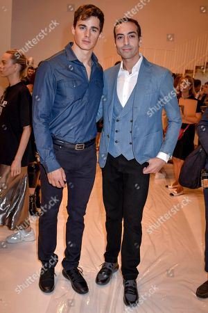 Pietro Boselli and Mohammed Al Turki