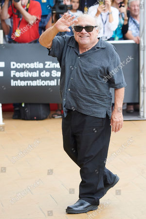 Danny DeVito out and about, 66th San Sebastian Film Festival