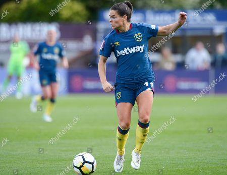 Claire Rafferty of West Ham Ladies