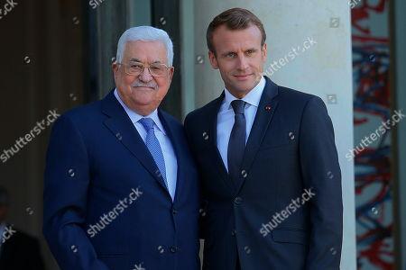 Mahmoud Abbas visit to France, Paris
