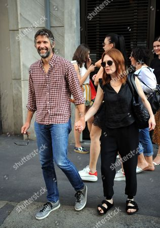 Julianne Moore out and about, Milan Fashion Week