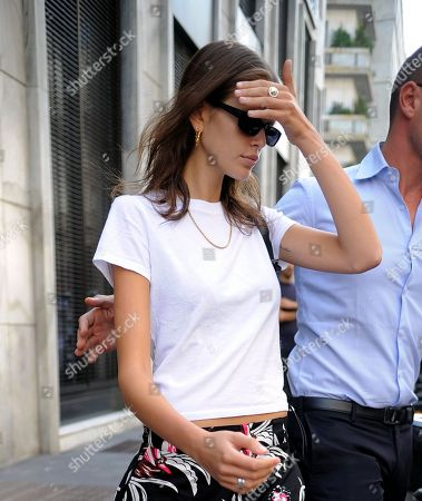Kaia Gerber out and about, Milan Fashion Week