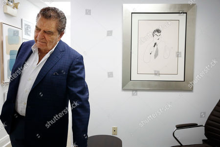"Mario Kreutzberger, also known as Don Francisco, appears during an interview, in the Brickell neighborhood of Miami. Kreutzberger is a well-known television personality with a TV show called ""Don Francisco Te Invita"