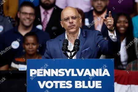 Editorial picture of Election 2018 Pennsylvania Obama, Philadelphia, USA - 21 Sep 2018