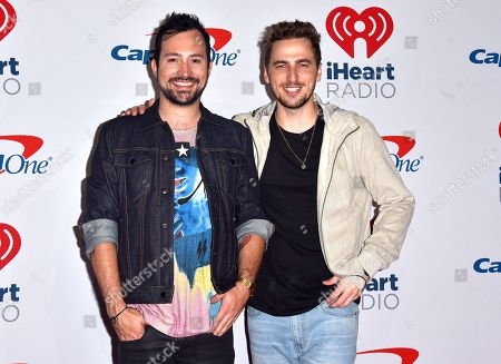 Kendall Schmidt and Dustin Belt of Heffron Drive