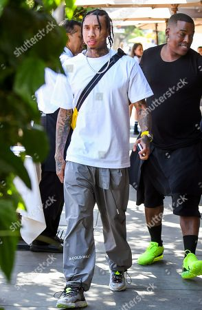 Tyga out and about, Los Angeles