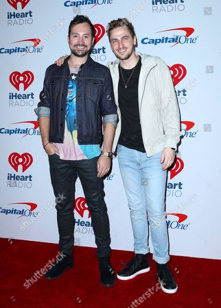 Dustin Belt and Kendall Schmidt from Heffron Drive