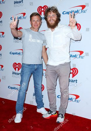 Jeremy Gilley and Mike Posner