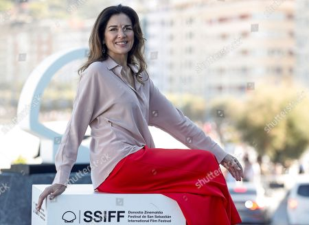 Argentine actress and cast member Andrea Frigerio poses during the presentation of the film 'Rojo' (Red) at the 66th edition of San Sebastian international Film Festival (SSIFF), in San Sebastian, Basque Country, Spain, 23 September 2018. The 66th edition of the SSIFF runs from 21 to 29 September.
