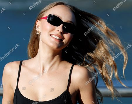 US-French actress and cast member Lily-Rose Melody Depp poses for the photographers during the presentation of 'L'Homme Fidele' (A Faithful Man) at the San Sebastian International Film Festival, in San Sebastian, Basque Country, Spain, 22 September 2018. The 66th edition of the SSIFF runs from 21 to 29 September.