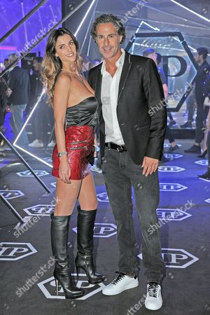 Fabio Galante and Francesca Palomo