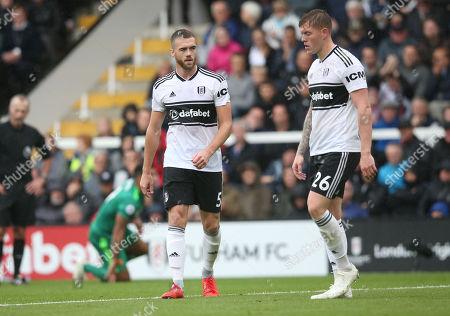 Calum Chambers & Alfie Mawson of Fulham defensive pairing