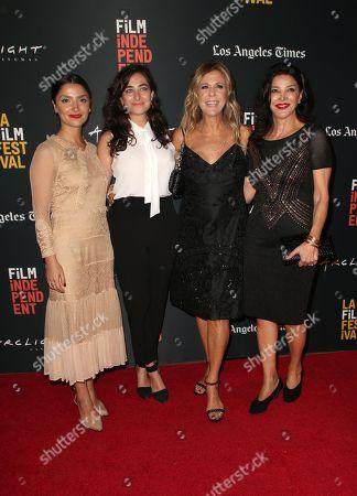Stock Picture of Tara Grammy, Sara Zandieh, Rita Wilson, Shohreh Aghdashloo