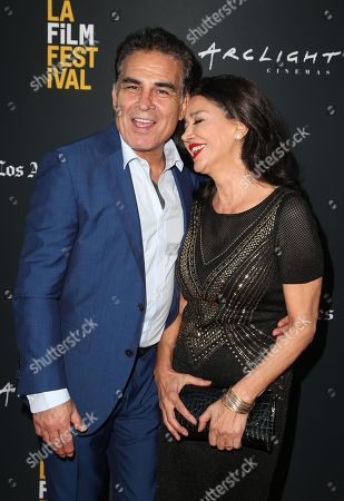 Stock Picture of Houshang Touzie and Shohreh Aghdashloo