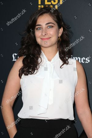 Editorial image of 'Simple Wedding' film premiere, Los Angeles Film Festival, USA - 21 Sep 2018