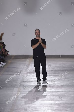 Paul Surridge on the catwalk