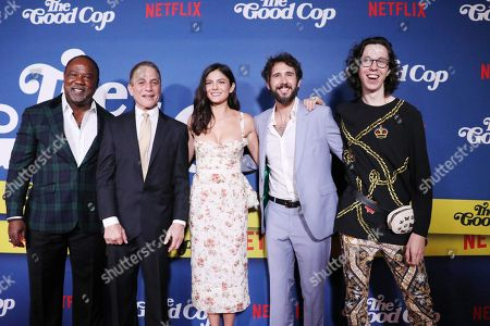 Editorial photo of 'The Good Cop' film premiere, Arrivals, New York, USA - 21 Sep 2018