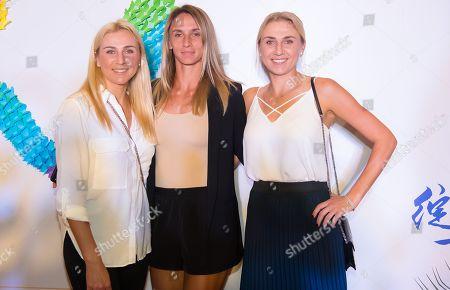 Lyudmyla Kichenok, Nadiia Kichenok & Lesia Tsurenko of the Ukraine