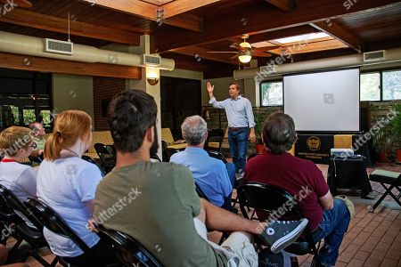 Editorial photo of Gubernatorial Candidate Greg Orman Addresses Social Science Students, Emporia, USA - 20 Sep 2018