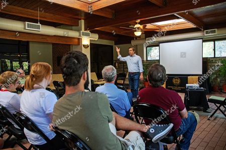 Editorial image of Gubernatorial Candidate Greg Orman Addresses Social Science Students, Emporia, USA - 20 Sep 2018