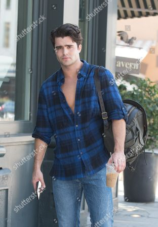 Spencer Boldman is spotted out and about in Santa Monica.
