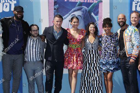 Stock Photo of LeBron James, Ely Henry, Channing Tatum, Zendaya, Gina Rodriguez, Yara Shahidi, Common, Karey Kirkpatrick and Jimmy Tatro