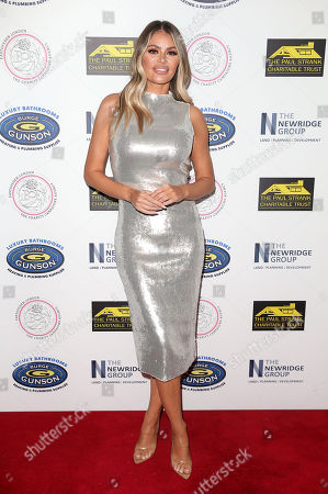 Chloe Simms attends the Paul Strank Charitable Trust Annual Gala at Bank of England Club, London.