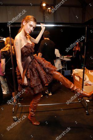Ermanno Scervino show, Backstage, Milan Fashion Week