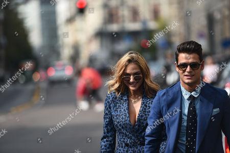 Giulia Gaudino and Frank Gallucci