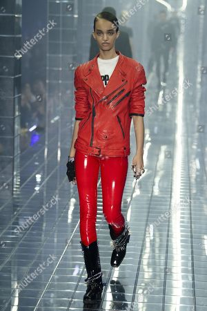 Stock Picture of Ellen Rosa on the catwalk
