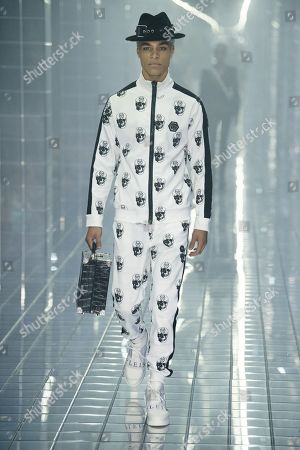 Stock Photo of Brian H Whittaker on the catwalk
