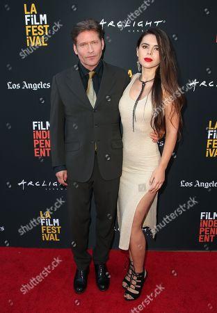 Crispin Glover and Kristina Coolish