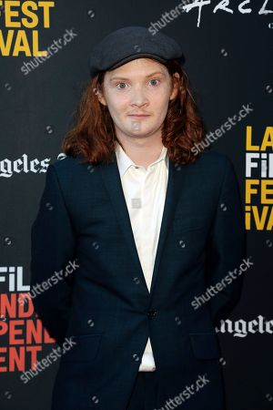"""Stock Image of Luke Spencer Roberts attends the World Premiere of """"Banana Split"""" at the 2018 Los Angeles Film Festival, in Culver City, Calif"""